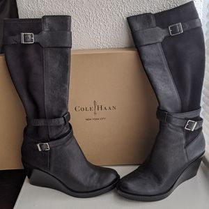 Cole Haan Patricia Wedge Boot w/ Nike Air